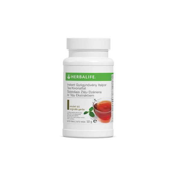 Herbalife instant italpor tea kivonattal őszibarack